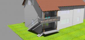 Anbau Balkon Langebach